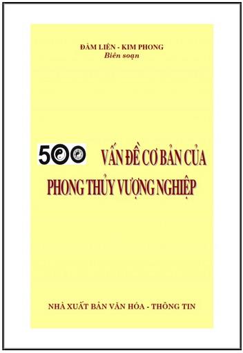 500 vấn đề cơ bản của phong thủy vượng nghiệp