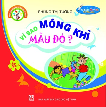 Truyện tranh tuổi mẫu giáo: Vì sao mông khỉ màu đỏ?