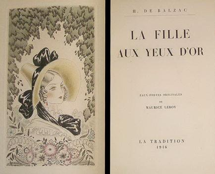 The Girl With the Golden Eyes (La Fille aux yeux d