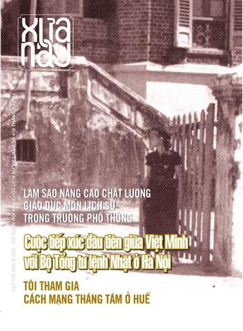Xưa & nay số 410 (tháng 8- 2012)
