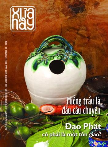 Xưa & nay số 415 (tháng 11- 2012)