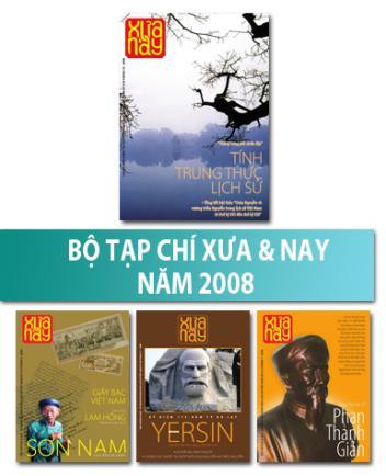 Bộ Tạp chí Xưa & nay năm 2008