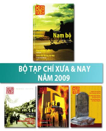 Bộ Tạp chí Xưa & nay năm 2009