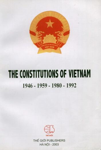 Tuyển tập Hiến pháp Việt Nam (The constitutions of Vietnam)