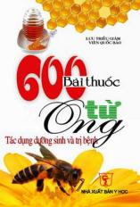 600 Bài thuốc từ ong