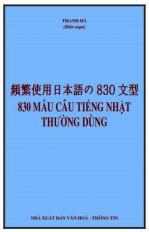 830 mẫu câu tiếng Nhật thường dùng
