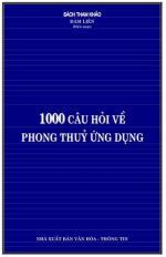 1000 câu hỏi về phong thủy ứng dụng