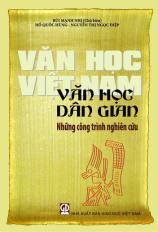 Văn học Việt Nam - Văn học dân gian - Những công trình nghiên cứu