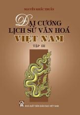 Đại cương Lịch sử văn hóa Việt Nam - tập 3