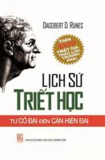 Lịch sử triết học - Từ cổ đại đến cận hiện đại