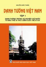Danh tướng Việt Nam - Tập 1