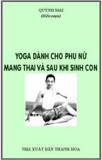 Yoga dành cho phụ nữ mang thai và sau khi sinh con