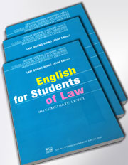 English for Student of Law (Intermediate level)