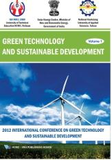 Green technology and sustainable development volume 1