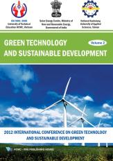 Green technology and sustainable development volume 2