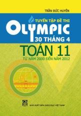 Tuyển tập đề thi Olympic 30 tháng 4 Toán 11 từ năm 2000 đến 2012