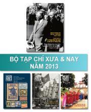 Bộ Tạp chí Xưa & nay năm 2013