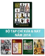 Bộ Tạp chí Xưa & nay năm 2014