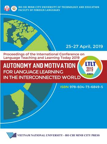 Proceedings of the International Conference on Language Teaching and Learning Today 2019: Autonomy and Motivation for Language Learning in the Interconnected World