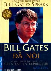 Bill Gates đã nói (Bill Gates speaks)